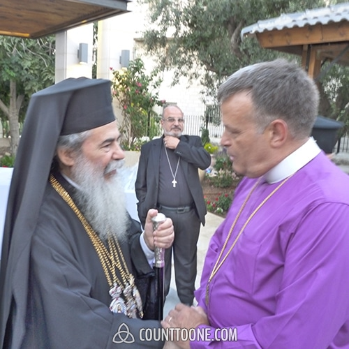 Patriarch Theophilos III, Patriarch of the Holy City of Jerusalem